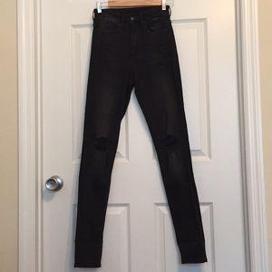 1452887766 High Waisted Skinny Jeans